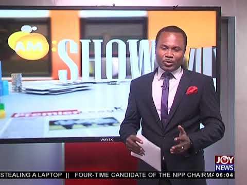 AM Show Intro on JoyNews (5-7-18)