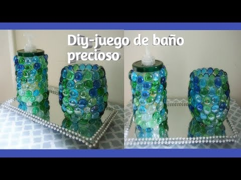Diy- Como Hacer un dispensador de jabon .How to make a soap dispenser.