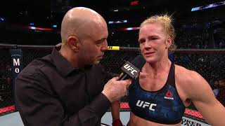 UFC 246: Holly Holm Octagon Interview