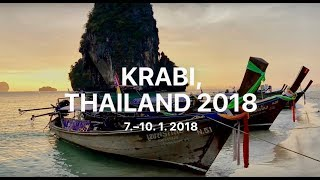 preview picture of video 'Krabi Ao Nang Railay and Phra Nang Beach Tahiland in 3 days 2018'
