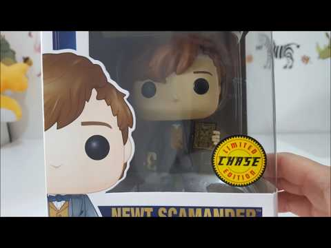 Funko POP! The Crimes of Grindelwald - Newt Scamander Chase