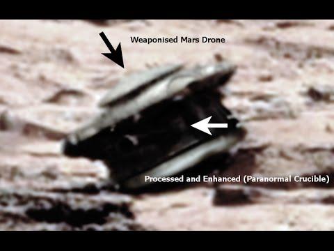 Resultado de imagen de Dron alienígena encontrado en Marte?