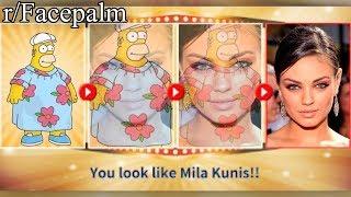 r/Facepalm   that ain't mila kunis...