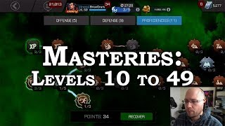 Masteries for Beginner & Intermediate Players | Marvel Contest of Champions