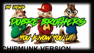 Chimpmunks dobre brothers you know you lit