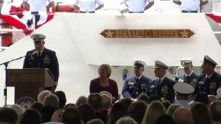 Coast Guard Cutter Bernard C Webber Commissioning