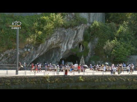 Chapelet du 7 août 2020 à Lourdes