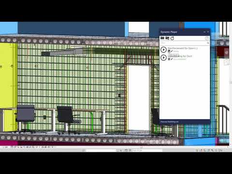 Revit 2019 MEP Coordination Wall Opening for Duct Demonstration