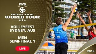 Sydney 3-Star 2019 - Men Semifinal 1 - Beach Volleyball World Tour
