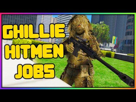 GTA 5 Roleplay – GHILLIE SUIT HITMAN JOBS | RedlineRP
