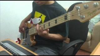 【ベース】 NERVOUS BREAKDOWN - Abingdon Boys School [Bass Cover]