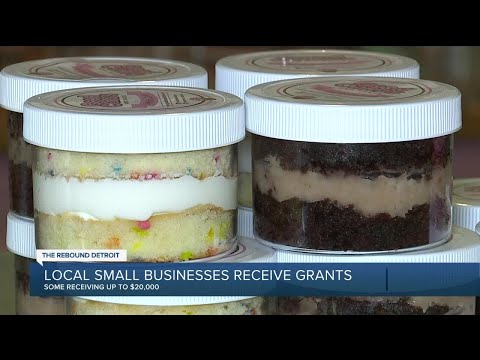 Rebound Detroit: Local small businesses receive grants