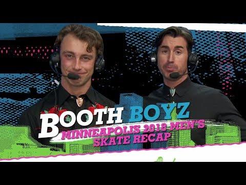 Booth Boyz: Men's Skateboard Recap - XG Minneapolis 2018  | World of X Games