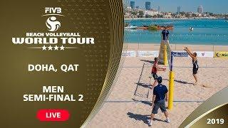 Doha 4-Star 2019 - Men Semi-Final 2 - Beach Volleyball World Tour