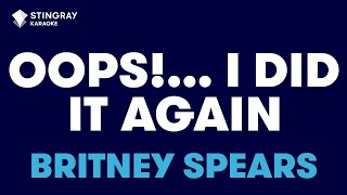 """Oops!...I Did It Again In The Style Of """"Britney Spears"""" Karaoke Video With Lyrics (no Lead Vocal)"""