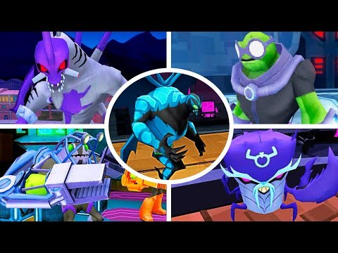 Ben 10: Omniverse 2 - All Bosses/Todos Chefes HD (PS3/X360/WII)