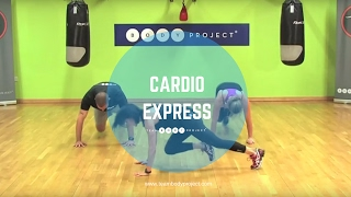 High intensity fat burning cardio workout (25 minutes) by Body Project