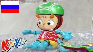 детские песни   Инси Винси паучок + Еще!   KiiYii   мультфильмы для детей