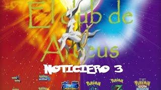 Noticiero 3: Pokemon Sol y Luna, Mas eventos, Pokken, Pokemon GO y mas