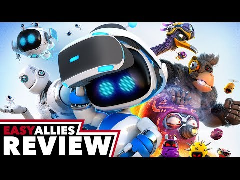 Astro Bot Rescue Mission - Easy Allies Review - YouTube video thumbnail