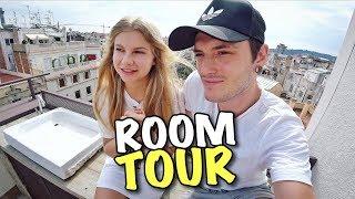 ROOM TOUR наш ПЕНТХАУС в БАРСЕЛОНЕ!
