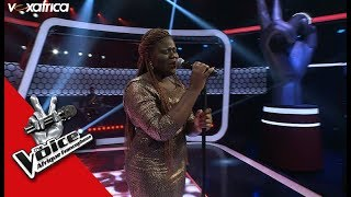 Rachel ' I Look To You ' <b>Whitney Houston</b> Audition à Laveugle LTheVoiceAfrique2017