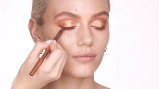 How To Make Blue Eyes POP With Copper Eyeshadow & Metallic Eyeliner | Charlotte Tilbury
