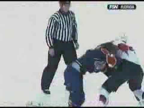 Tanner Glass vs. Chris Neil
