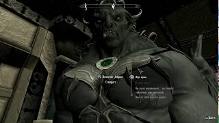 Skyrim Mod Banderlog Vampire Lord & Jeepers Creepers NEW Facial Animation