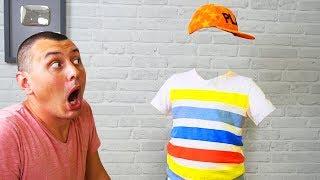 МАТВЕЙ стал НЕВИДИМКОЙ!!! ПОШУТИЛ над ПАПОЙ! Видео для детей Video For Kids Матвей Котофей для детей