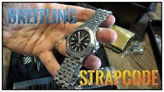 Breitling Colt 41 Toolwatch mit Strapcode Super Engineer 1 Edelstahl Armband   Uhr Clock Watch