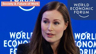 Social Mobility: Getting to 50-50 Gender Parity | DAVOS 2020