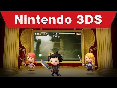 Nintendo 3DS - Theatrhythm Final Fantasy: Curtain Call Launch Trailer thumbnail
