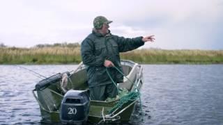 Место для ловля щуки на озере ильмень