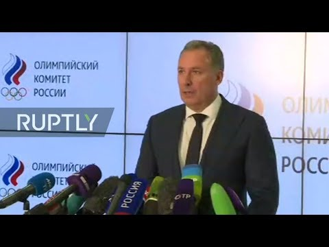 LIVE: Russian Olympic Committee President speaks to press following WADA meeting (ENG)