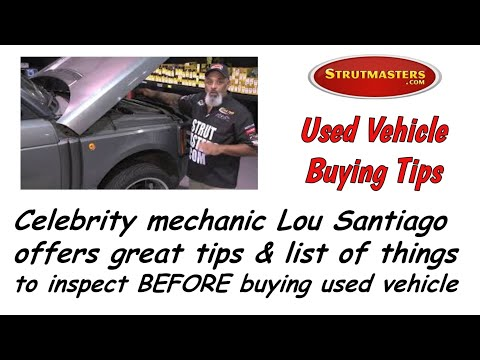 Tech Tip # 2 From Lou Santiago For Strutmasters