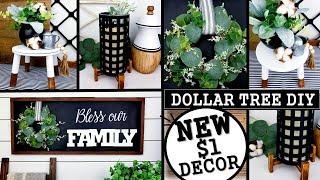$1 HIGH END DIYS | DOLLAR TREE DIYS | MODERN HOME DECOR IDEAS 2020