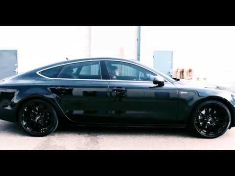 Audi A7 Wheels Powder Coated Gloss Black
