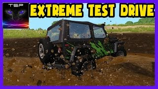 BeamNG drive - Ibishu Hopper 4x4 Extreme Offroad Test Driving