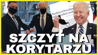 Joe Biden & Andrzej Duda - SZCZYT NA(TO) KORYTARZU