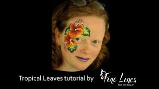 Learn to paint like a pro! Take a look at my Tropical Leaf tutorial.