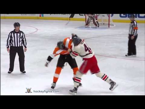 Wayne Simmonds vs Stu Bickel