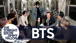 BTS Answers #FallonAsksBTS Fan ARMY Questions: Black Bean Noodle Incident Revealed