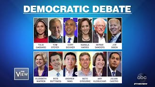 Progressives V. Moderates at Dem Debate? | The View