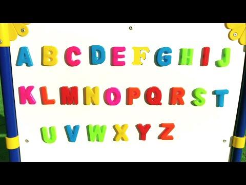 Учим буквы, цифры и фигуры на английском языке | Развивающее видео для малышей
