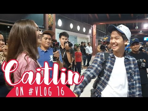 Caitlin On #VLOG 16 - Bye Iqbaal T_T