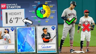 i drafted the TALLEST players in mlb the show..