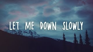 Alec Benjamin   Let Me Down Slowly (Lyrics)