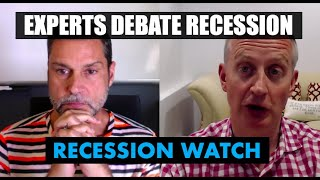 🔴 What Do Experts Say About Recession? Raoul Pal & Julian Brigden Debate  | Recession Watch