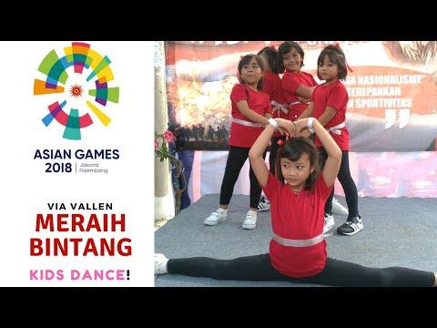 KEREN!! Via Vallen Meraih Bintang - KIDS Dance! Official Song Asian Games 2018